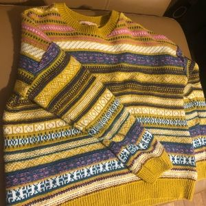 Urban outfitter collage sweater
